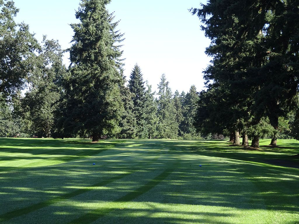 16th Hole at Tacoma Country and Golf Club (514 Yard Par 5)