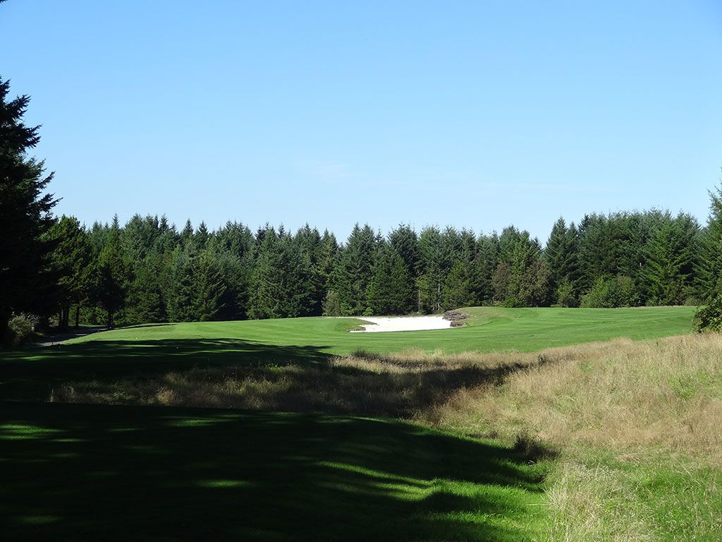 7th Hole at Trophy Lake Golf and Casting (547 Yard Par 5)