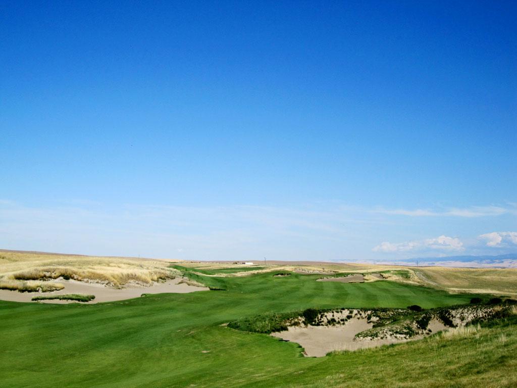 7th Hole at Wine Valley Golf Club (625 Yard Par 5)