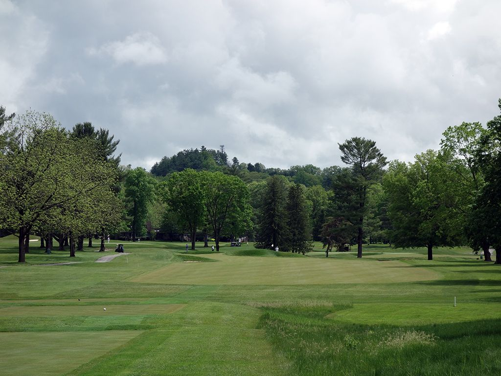 10th (Principal's Nose) Hole at The (Old White TPC) Greenbrier (382 Yard Par 4)