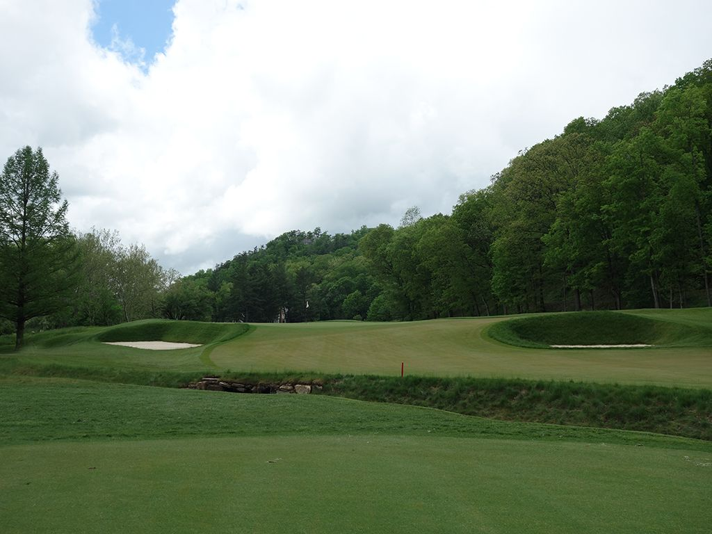 12th (Long) Hole at The (Old White TPC) Greenbrier (570 Yard Par 5)