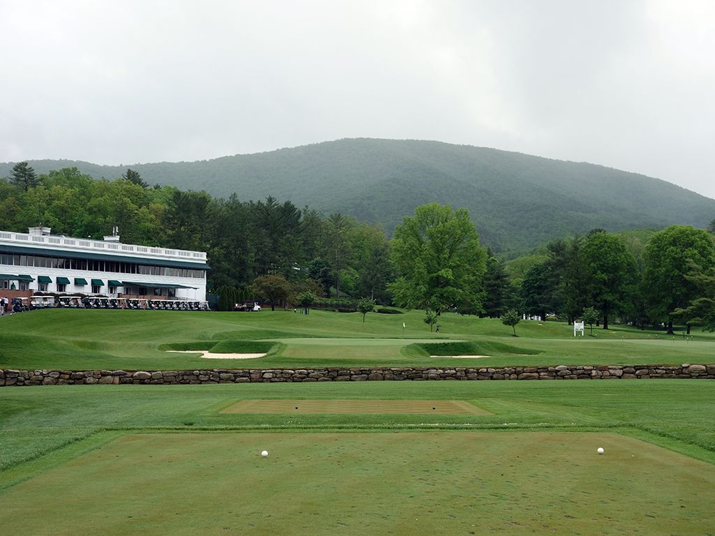18th (Home) Hole at The (Old White TPC) Greenbrier (179 Yard Par 3)