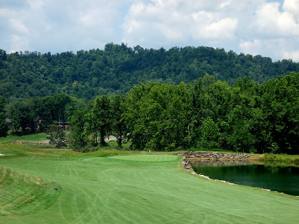 15th Hole at Pete Dye Golf Club (541 Yard Par 5)