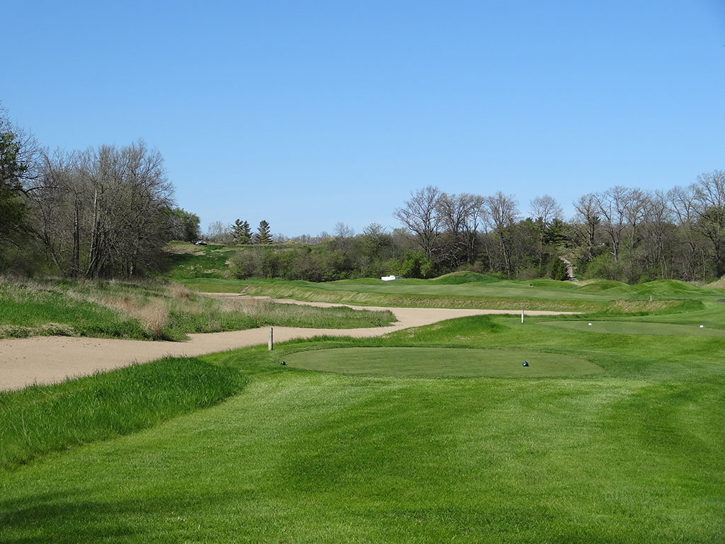 18th Hole at Blackwolf Run (River) (510 Yard Par 4)