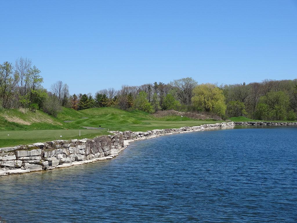 4th Hole at Blackwolf Run (River) (219 Yard Par 3)