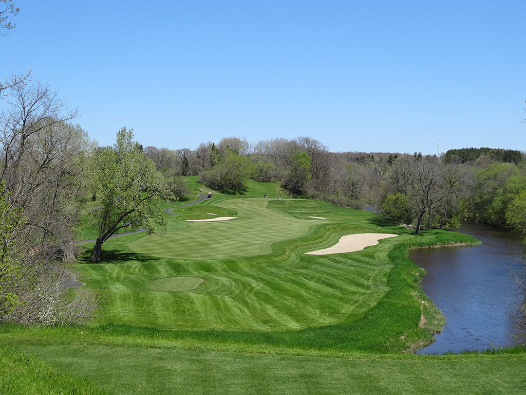 5th Hole at Blackwolf Run (River) (427 Yard Par 4)
