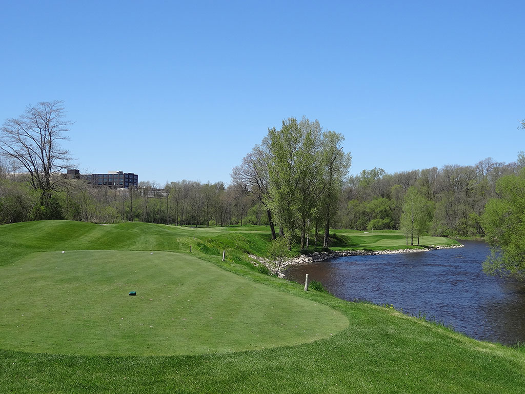 9th Hole at Blackwolf Run (River) (361 Yard Par 4)