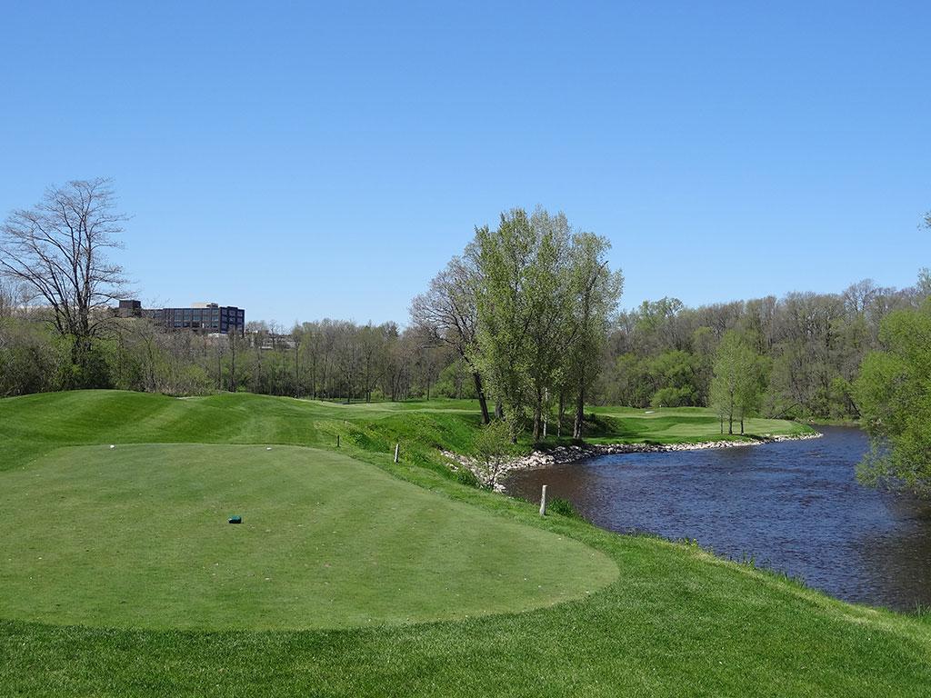 9th Hole at Blackwolf Run (River) (361 Yard Par 4)