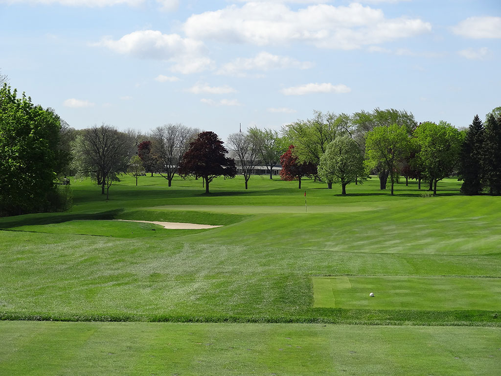 13th Hole at Blue Mound Golf and Country Club (185 Yard Par 3)
