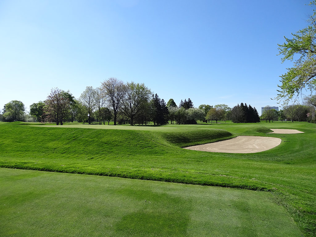 3rd Hole at Blue Mound Golf and Country Club (220 Yard Par 3)