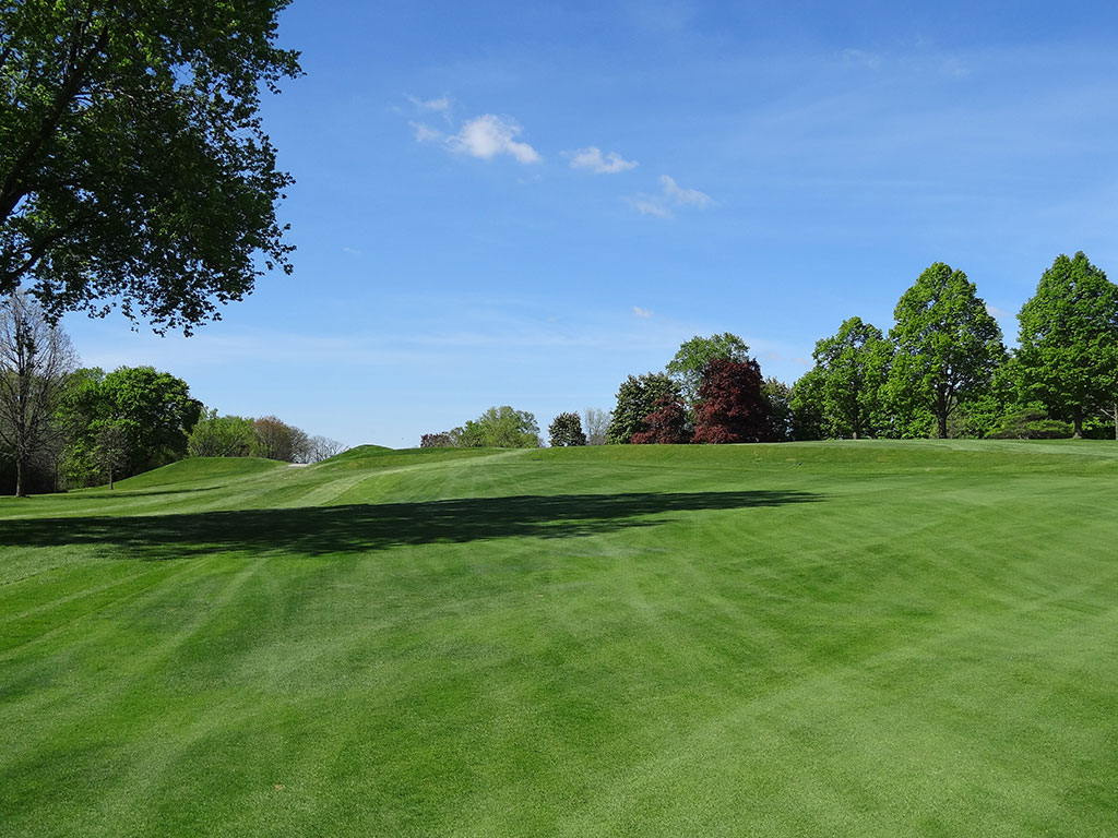 8th Hole at Blue Mound Golf and Country Club (445 Yard Par 4)