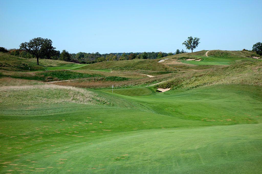 12th Hole at Erin Hills Golf Course (466 Yard Par 4)