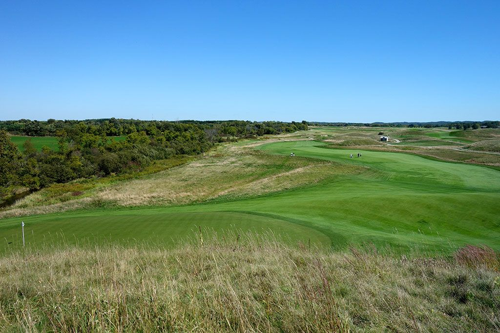14th Hole at Erin Hills Golf Course (609 Yard Par 5)