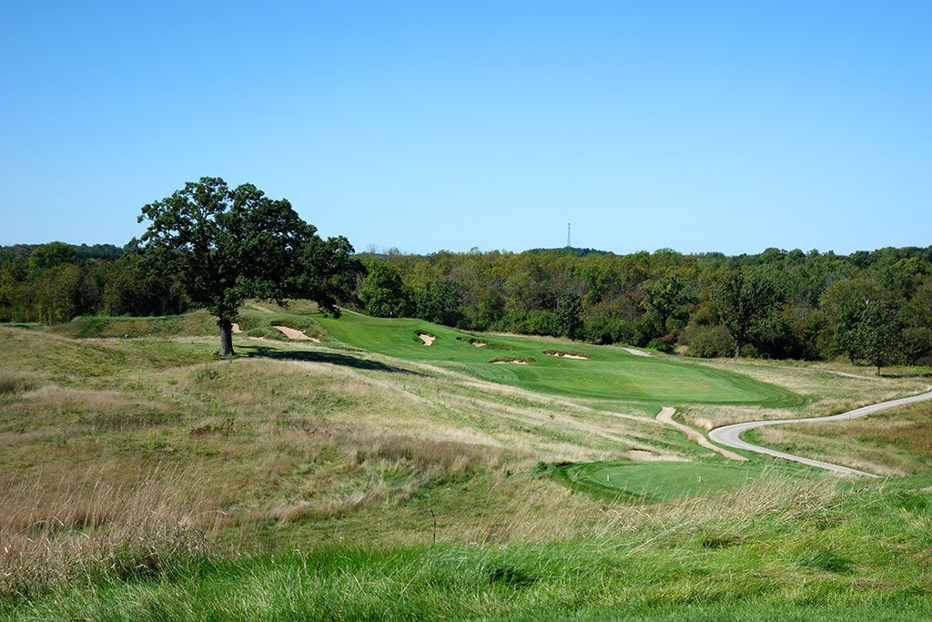 15th hole at Erin Hill Golf Course (Hartford, WI)