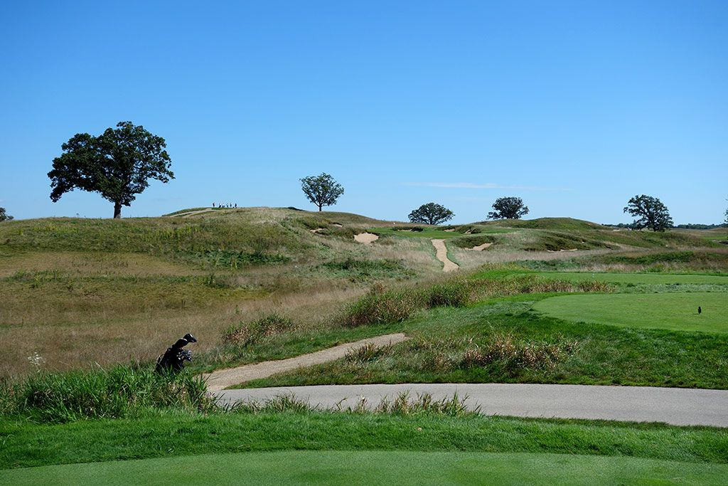 16th Hole at Erin Hills Golf Course (200 Yard Par 3)