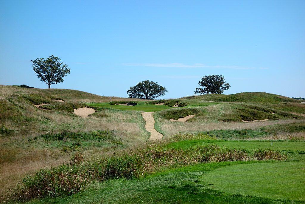 16th Hole at Erin Hills Golf Course (200 Yard Par 3)