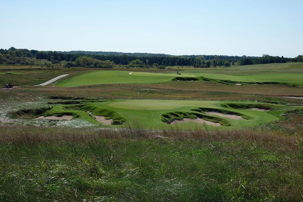 9th Hole at Erin Hills Golf Course (165 Yard Par 3)