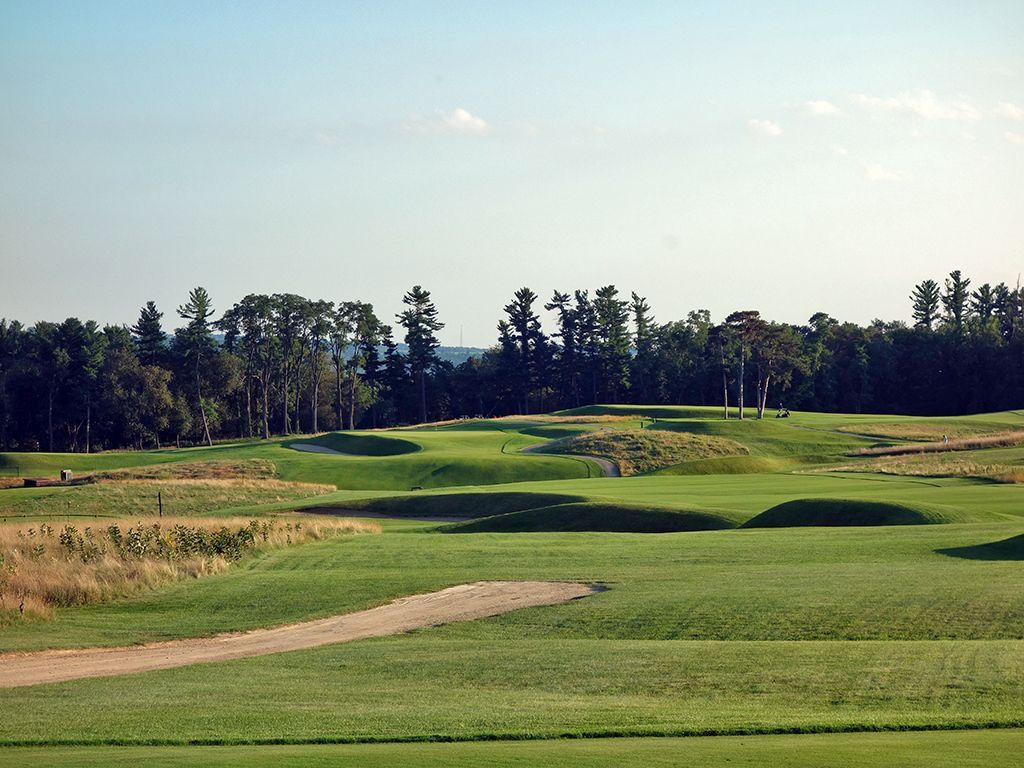 13th Hole at The Golf Courses of (Links) Lawsonia (568 Yard Par 5)
