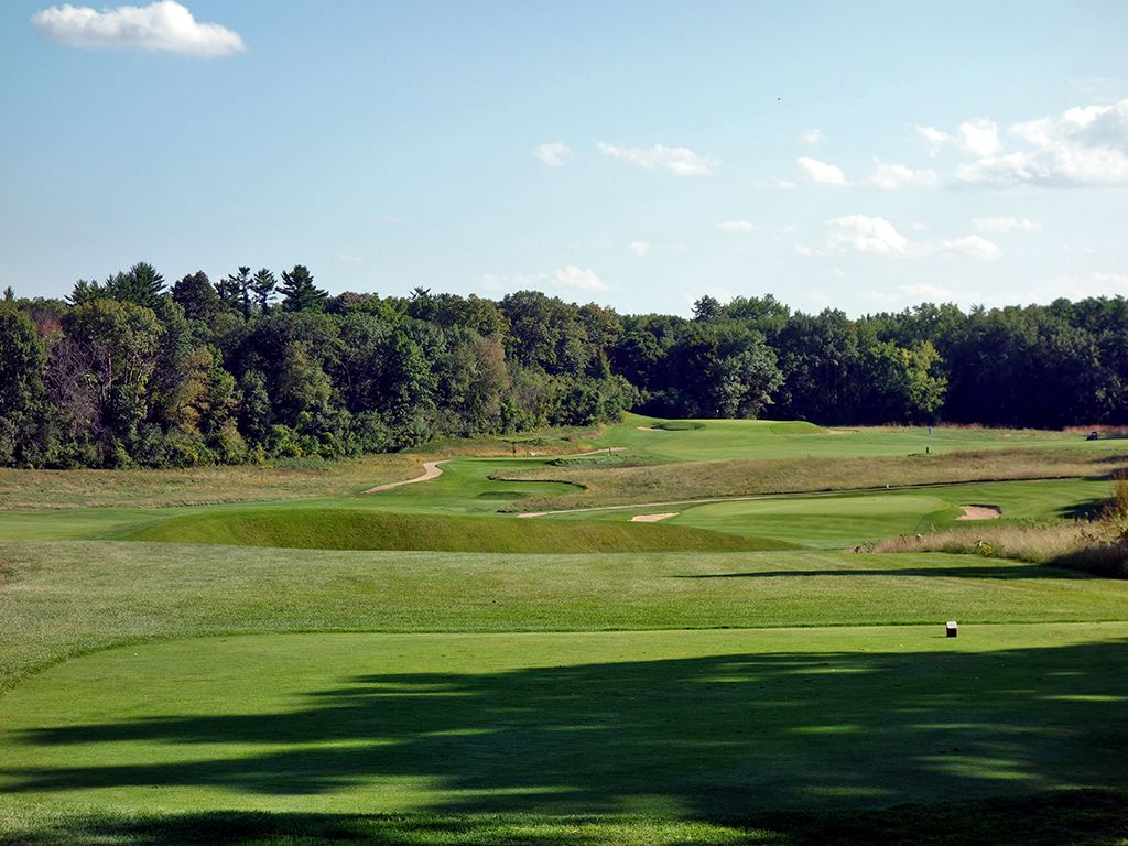 6th Hole at The Golf Courses of (Links) Lawsonia (439 Yard Par 4)
