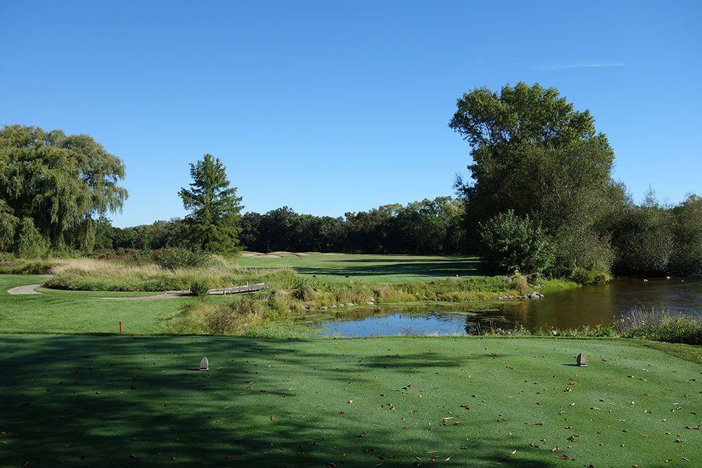 11th Hole at Milwaukee Country Club (375 Yard Par 4)