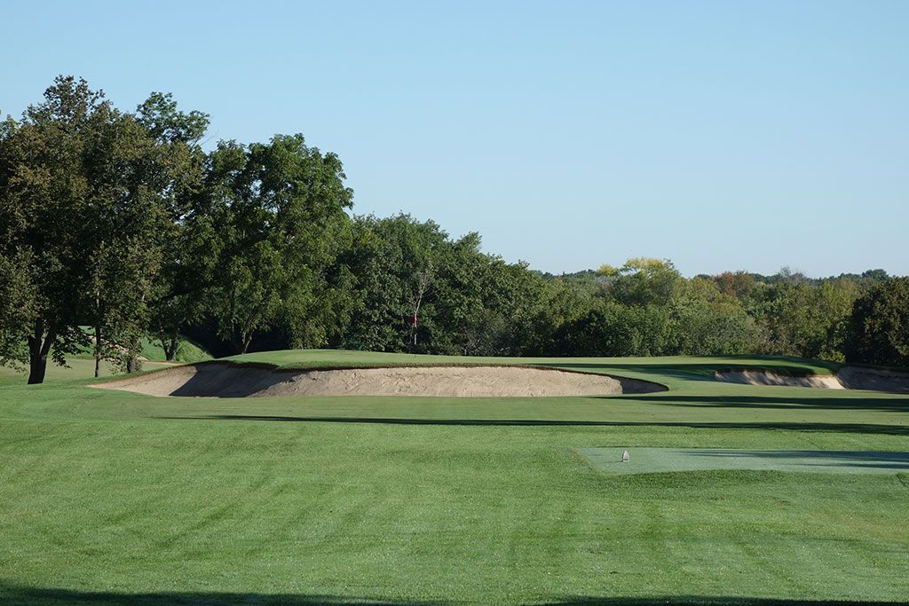 8th Hole at Milwaukee Country Club (174 Yard Par 3)