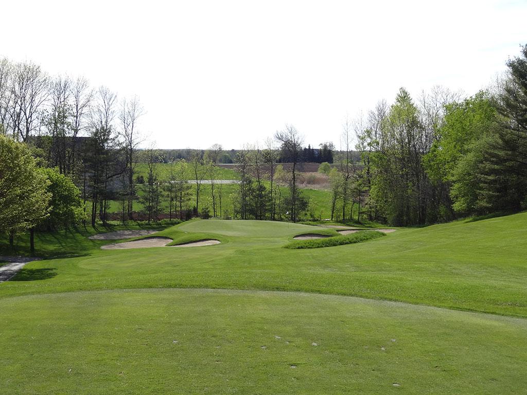 14th Hole at Pine Hills Country Club (134 Yard Par 3)