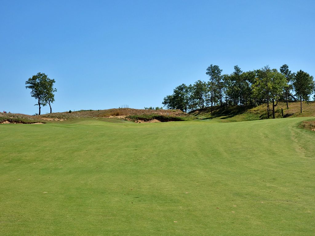 4th Hole at Sand Valley (593 Yard Par 5)