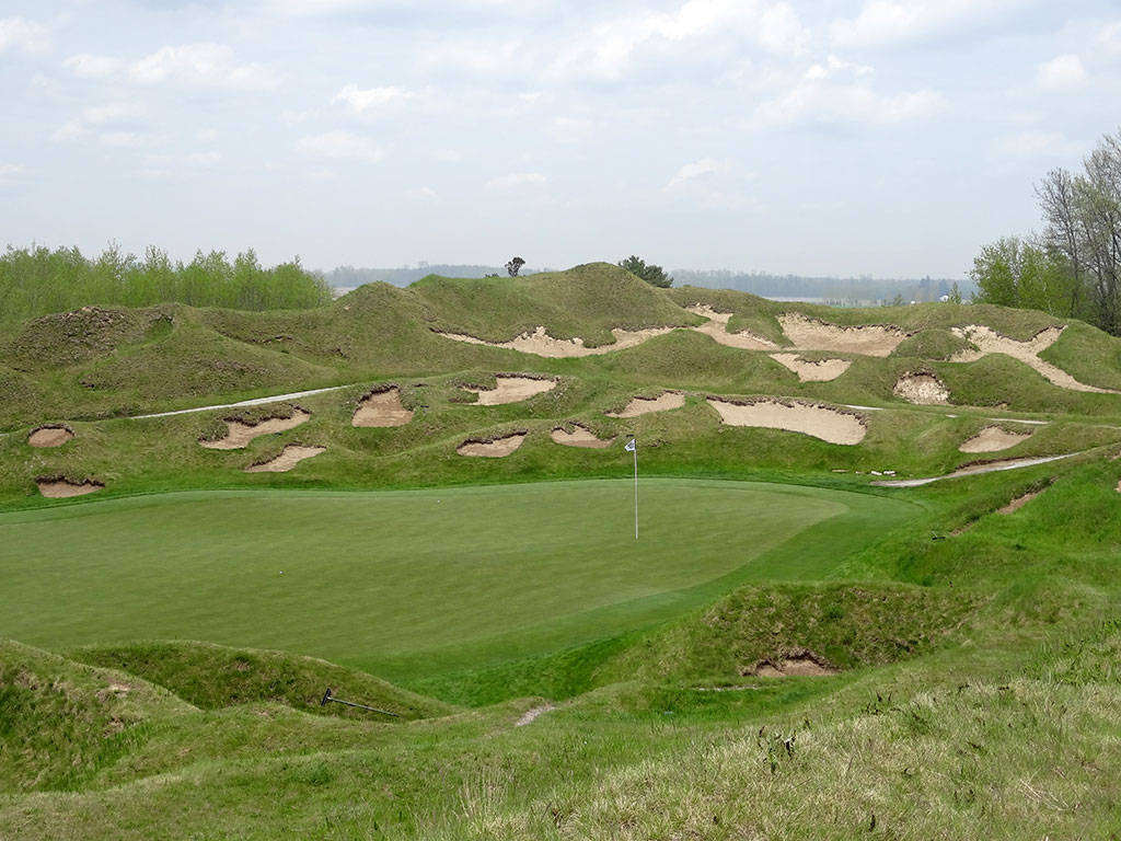 13th Hole at Whistling Straits (Irish) (183 Yard Par 3)