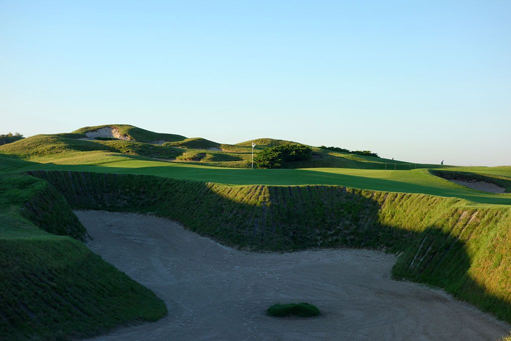 11th Hole at Whistling Straits (Straits) (645 Yard Par 5)