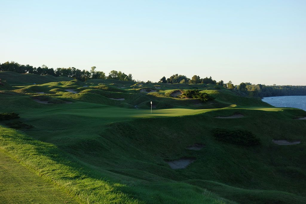 12th Hole at Whistling Straits (Straits) (163 Yard Par 3)