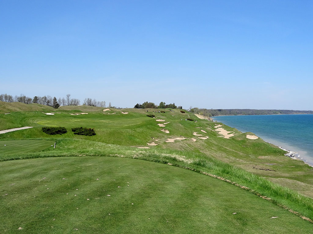 13th Hole at Whistling Straits (Straits) (402 Yard Par 4)