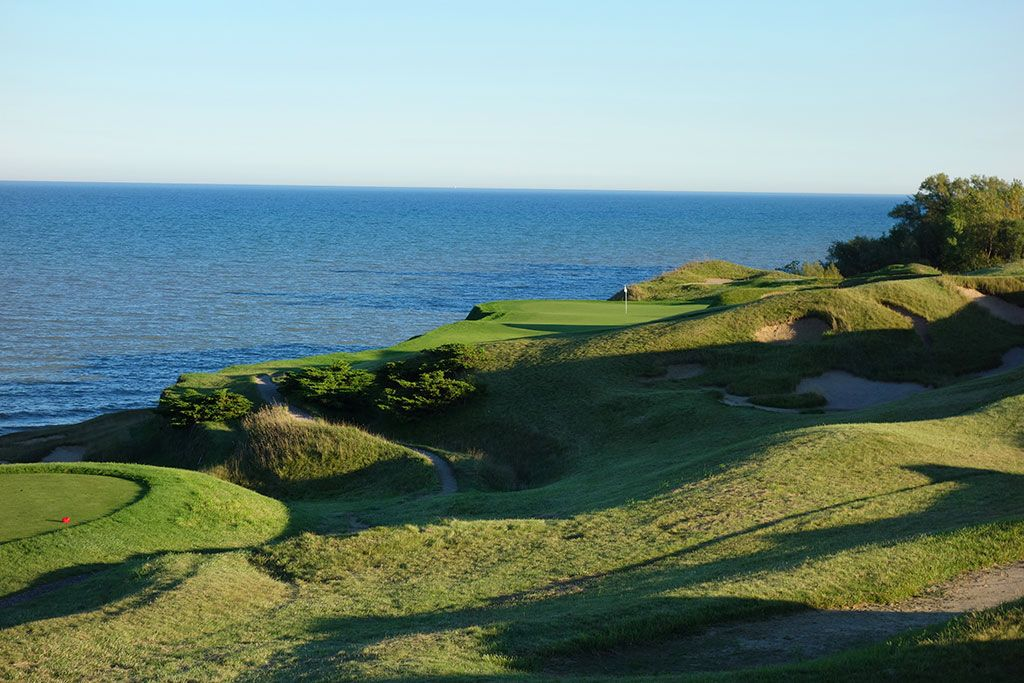 17th Hole at Whistling Straits (Straits) (249 Yard Par 3)
