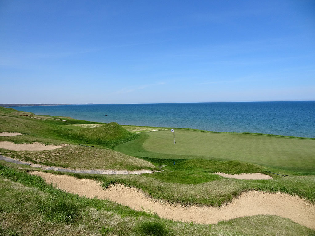 17th Hole at Whistling Straits (Straits) (249 Yard Par 3)