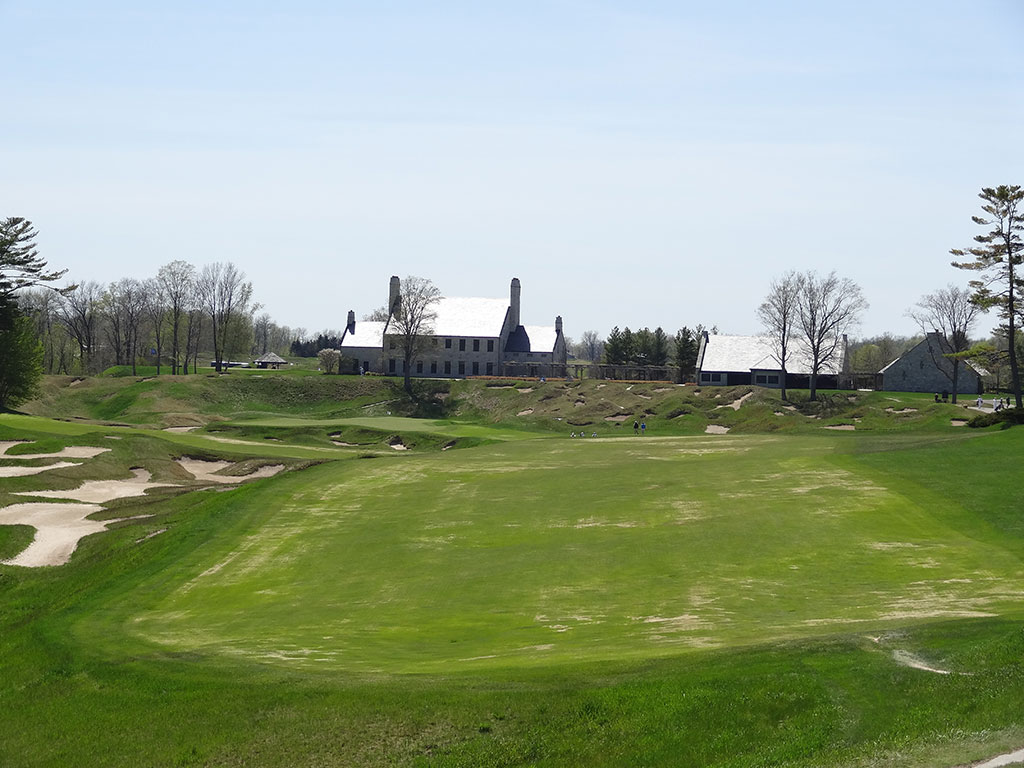 18th Hole at Whistling Straits (Straits) (520 Yard Par 4)