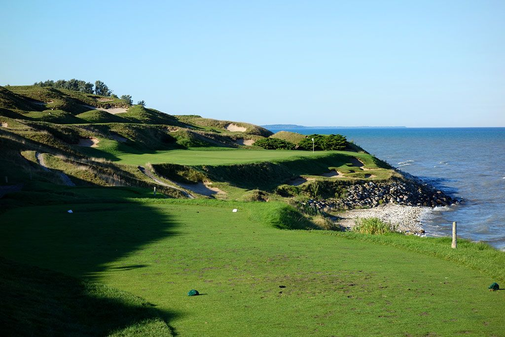 7th Hole at Whistling Straits (Straits) (221 Yard Par 3)