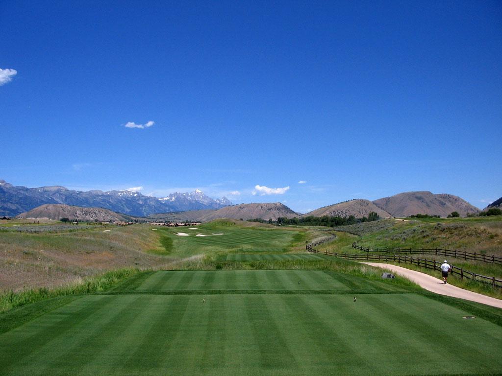 16th Hole at 3 Creek Ranch Golf Club (488 Yard Par 4)