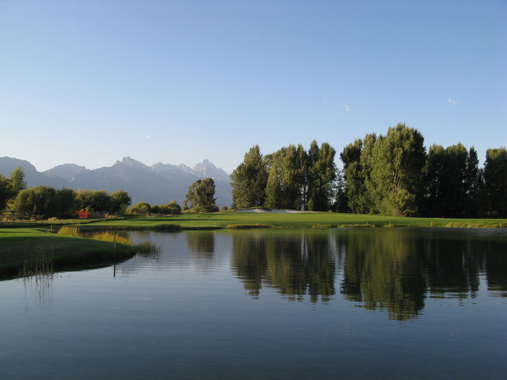 13th Hole at Jackson Hole Golf and Tennis Club