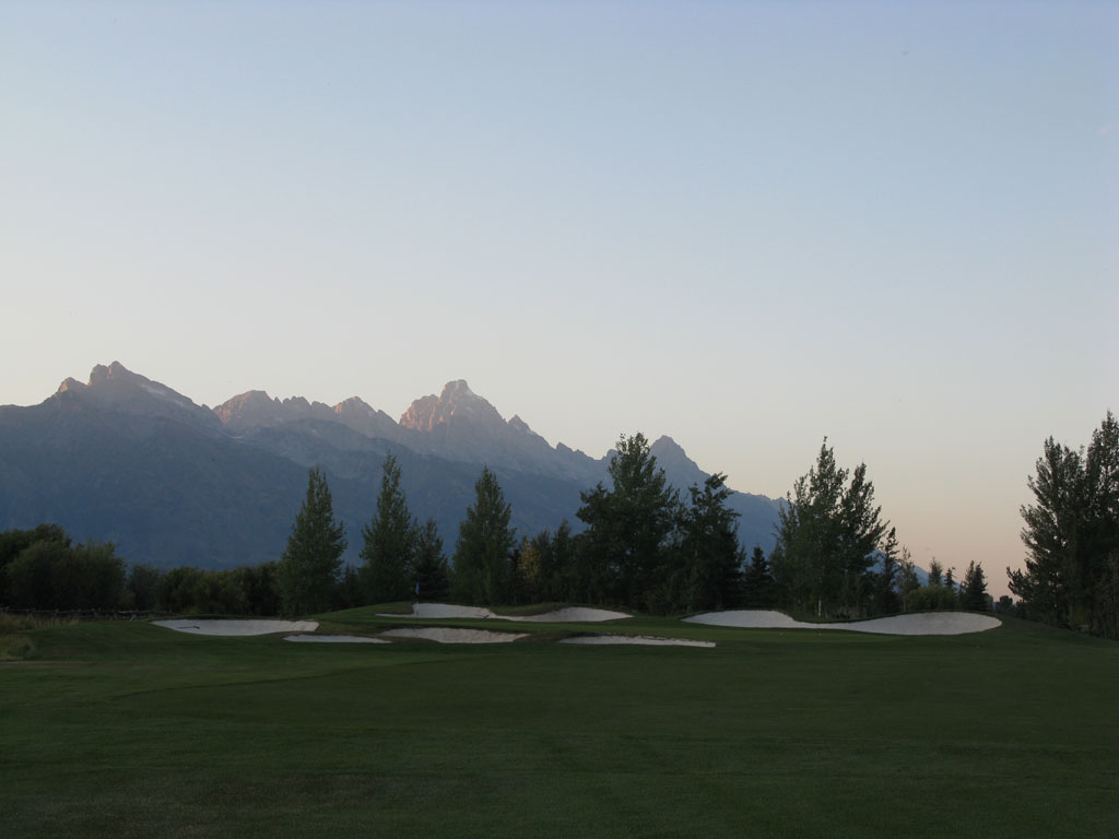 16th Hole at Jackson Hole (203 Yard Par 3)