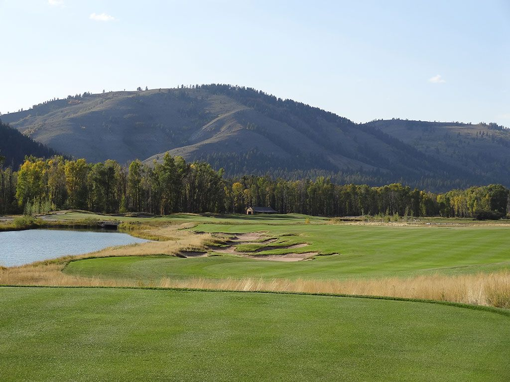 11th Hole at Snake River Sporting Club (635 Yard Par 5)