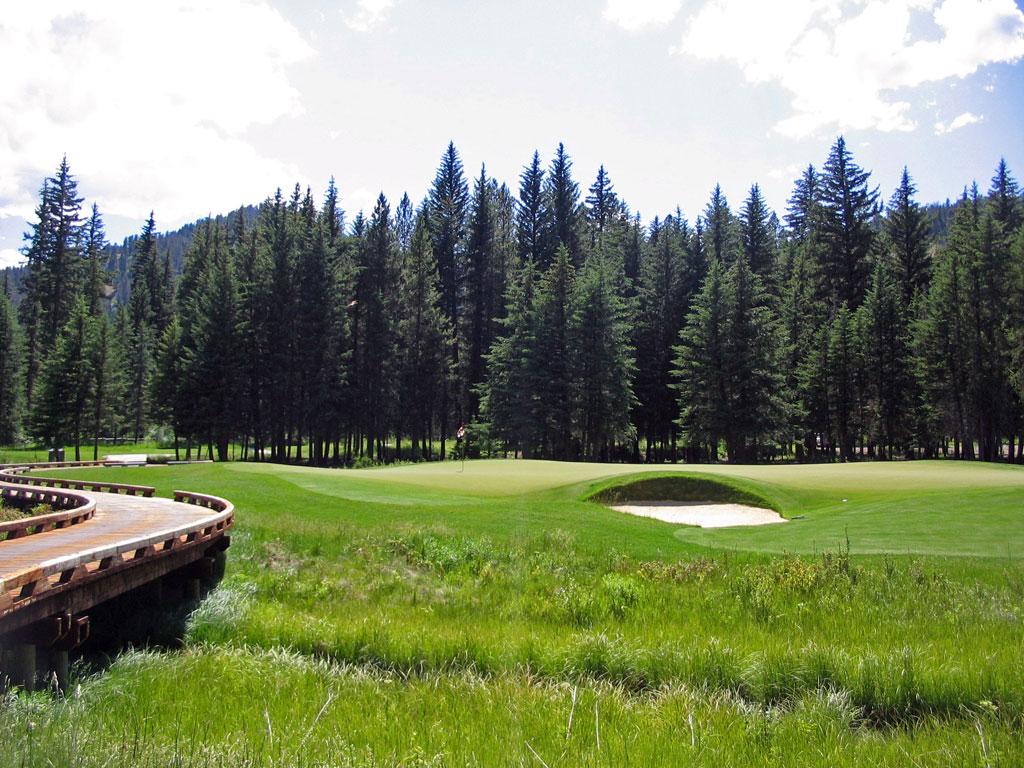 4th Hole at Snake River Sporting Club (150 Yard Par 3)