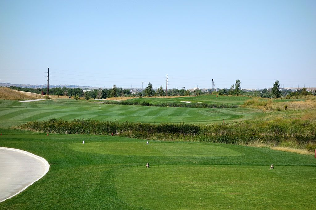 15th Hole at Three Crowns Golf Club (385 Yard Par 4)
