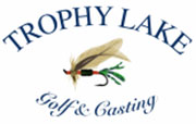 Trophy Lake Golf and Casting logo